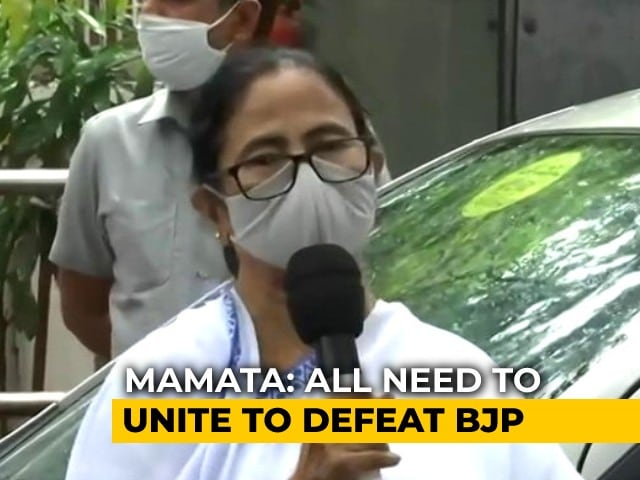 """Video : """"Need To Come Together To Defeat BJP"""": Mamata Banerjee Meets Sonia Gandhi"""