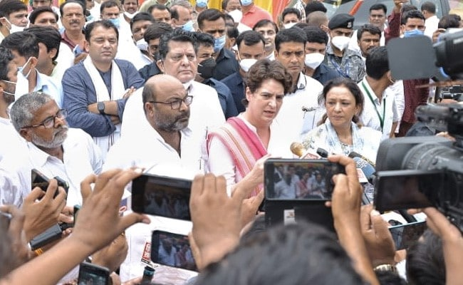 'For Food Security, Farm Laws Will Have To Be Repealed': Priyanka Gandhi Vadra