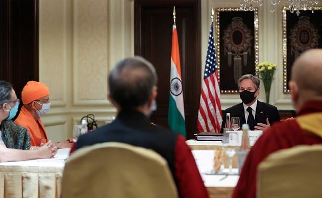मूलभूत स्वतंत्रता में विश्वास रखते हैं भारत और अमेरिका : वार्ता से पहले बोले अमेरिकी विदेशमंत्री एंटनी ब्लिंकन