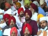 Video : Navjot Sidhu's Golden Temple Visit With MLAs, Message For Amarinder Singh