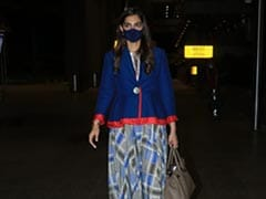Sonam Kapoor Arrives Back To Mumbai In Style But Not Without Her Rs 7 Lakh Hermes Handbag
