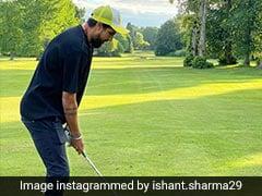 """""""Lambu Ji..."""": Yuvraj Singh Hilariously Trolls Ishant Sharma's Golf Skills"""