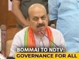Video : Basavaraj Bommai, With BS Yediyurappa's Blessing, Takes Charge