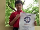 Video : Hyderabad Boy, 10, Sets World Record At Underwater Speedcubing Contest