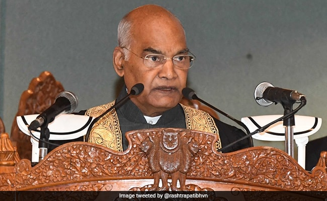 Kashmir To Acquire Its Rightful Place As India's 'Crowning Glory': President Kovind