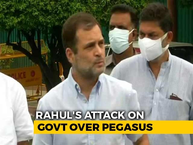 Video : Centre Rejects Rahul Gandhi's Call For Pegasus Court Inquiry