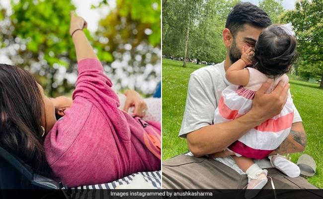 Baby Vamika's Cozy Picnic At A Park With Parents Anushka Sharma And Virat Kohli On Her 6-Month Anniversary