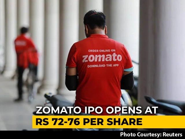 Video: Zomato Raises Rs 4,196 Crore From Anchor Investors; IPO Gets Underway