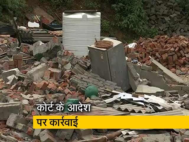 Video : फरीदाबाद के खोड़ी गांव में सैकड़ों घर ढहा दिए गए