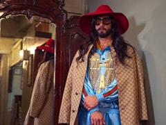 Memes Can Wait, Ranveer Singh's Gucci Look Is Gucci Boss-Approved. See Alessandro Michele's Comment