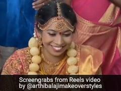 'Real Golgappa Fan': Bride Wears Jewellery Made With Pani Puri At Wedding