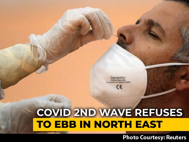 Video : 47 Of 73 Districts With Over 10% Covid Positivity In Northeast - Centre
