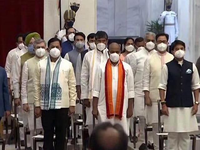 Video : 43 Ministers Take Oath In PM Modi's Cabinet Reboot