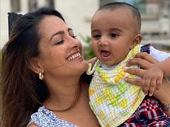 On Anita Hassanandani's Pics With Baby Son, Husband Rohit Reddy Dropped This Comment
