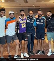 Virat Kohli And India Teammates All Smiles In 'Work Done' Pic