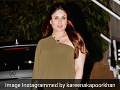 When Kareena Kapoor Defied Maternity Fashion Rules In An Olive Green Maxi Dress With A Thigh High Slit