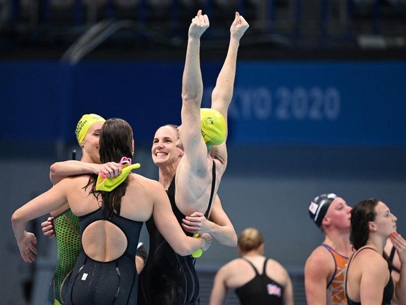 Tokyo Olympics: Australian Smash World Record Women's 4x100m Freestyle Swimming Relay to Win Gold Olympic News