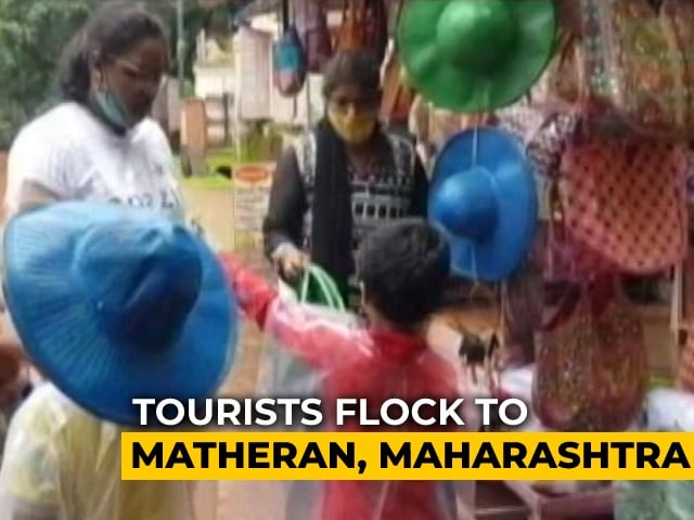 Video : Matheran: Country's Smallest Hill Station Opens For Tourists