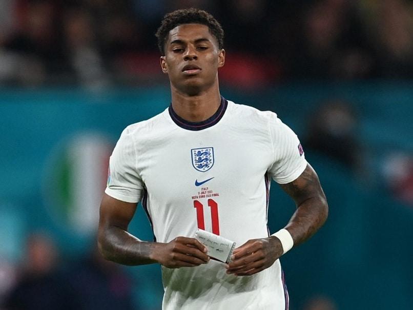 """Im Marcus Rashford, 23, Black"": Racially Abused After Euro 2020 Loss, England Footballers Powerful Note"