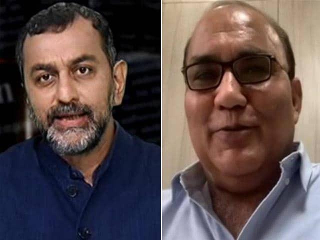 "Video : Watch: ""Won't Give In To Pressure,"" Dainik Bhaskar Editor To NDTV On Tax Raid"
