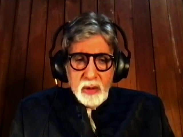 Video : Healthcare Workers Have Shown Unbelievable Spirit During The COVID-19 Pandemic: Amitabh Bachchan