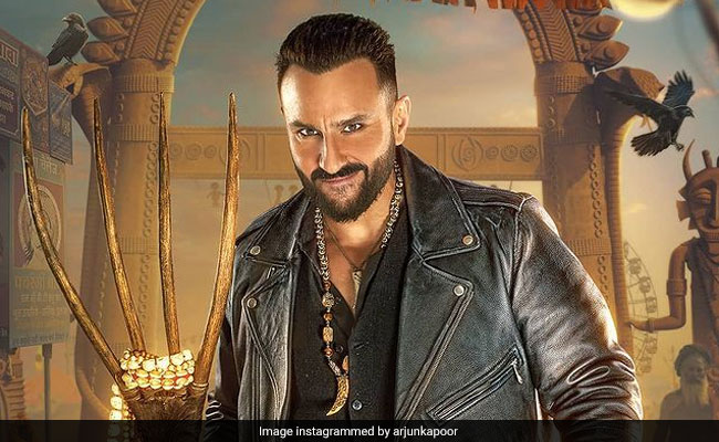 """<I>Bhoot Police</I>: Afraid Of Ghosts? Don't Worry, """"Feel Saif With Vibhooti."""" See Actor's First Look"""
