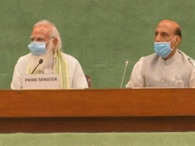 Video : Ready To Discuss Any Issue As Per Rules: PM Modi At All-Party Meeting