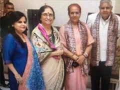 With Photo Twist, Trinamool Targets Governor On Kolkata Vaccination Fraud