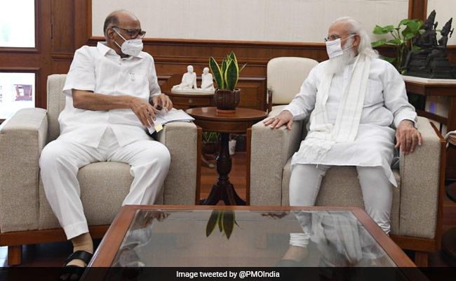 PM Modi, Sharad Pawar Meet For Nearly 50 Minutes