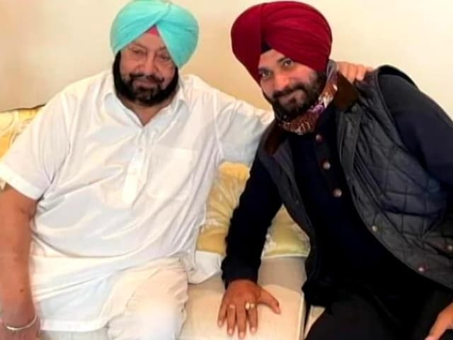 Video : Amarinder Singh, Navjot Sidhu To End The Chill With Tea Party Tomorrow
