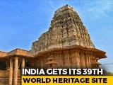 Video : Telangana's Ramappa Temple Gets UNESCO Heritage Tag; PM Modi Congratulates Nation