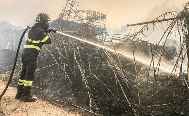 Italy Asks Europe For Firefighting Planes To Control Sardinia Fires