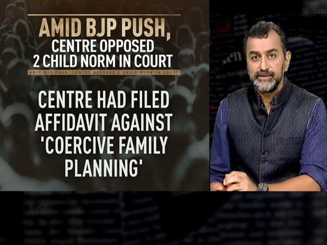 Video : BJP Leaders Push Laws To Control Population