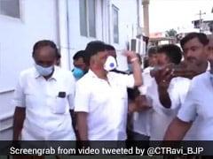 "On Camera, Karnataka Congress Chief Slaps Man, BJP Slams ""Behaviour"""