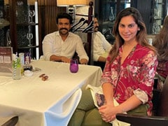 """Ram Charan And Wife Upasana Went On A Lunch Date After """"So Long."""" See Pic"""