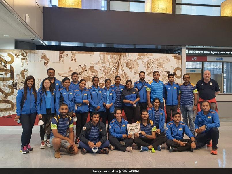Tokyo Olympics: Indian Shooting Contingent Arrives In Tokyo