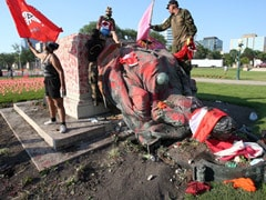 Queen Victoria, Elizabeth Statues Toppled In Canada Over Unmarked Graves