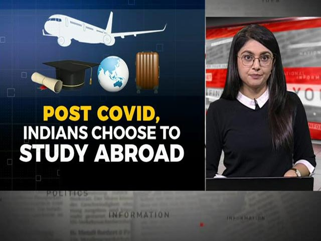 Video : Why More And More Indians Are Choosing To Study Abroad?