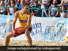 Czech Beach Volleyball Player Tests Covid Positive In Olympic Village