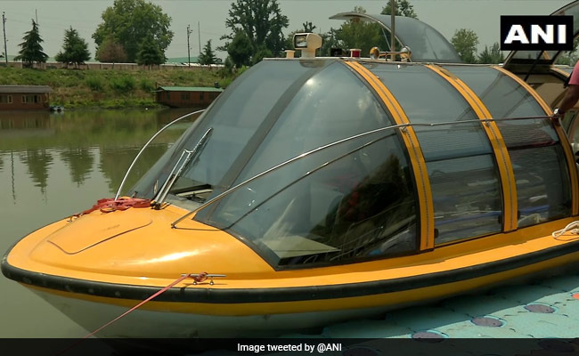 J&K Government Imports 1st Luxury Boat To Revive Water Transport On Jhelum
