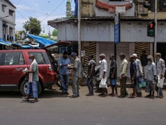 Covid Impact Sees Even Middle Class Indians Queuing For Rations