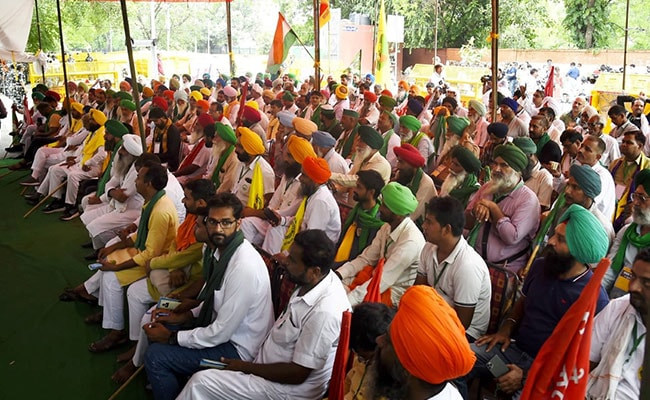 At Kisan Sansad, Farmers Appoint Agriculture Minister, Who Then Quits
