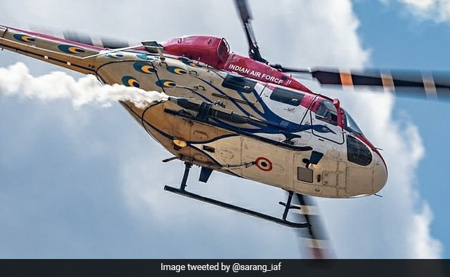 Indian Air Force's Sarang Helicopter Team To Perform At Air Show In Russia