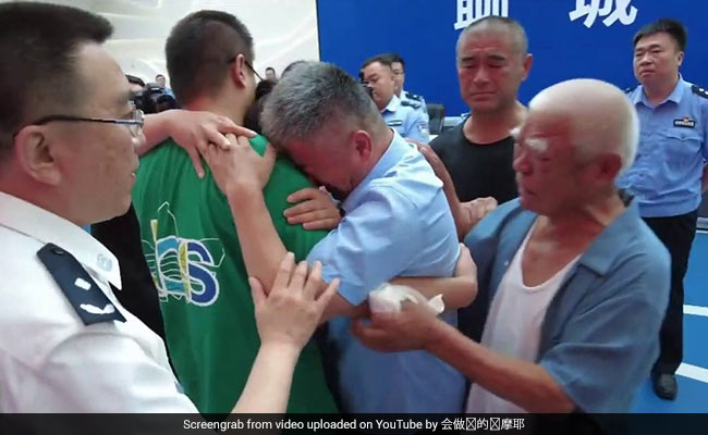 Watch: Man Reunited With Son Who Was Abducted 24 Years Ago