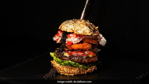 Wait, What! Dutch Chef Whips Up World's 'Most Expensive' Burger Worth Rs. 4 Lakh