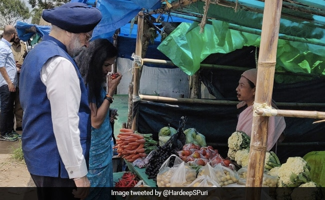 Nagaland 'King Chilli' Exported To London. Minister Recalls Market Visit