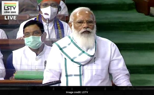 Slogans As PM Modi Speaks In Parliament, Government Hits Back: 10 Points