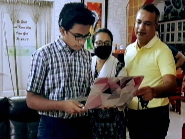 Video : Chennai Boy, Who Contracted Covid In 2nd Wave, Scores 96% In Class 12