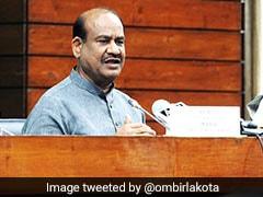 Parliament Session Begins Next Monday, Covid Test Not Mandatory: Om Birla