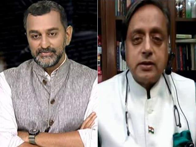 Video : Shashi Tharoor Calls For Probe Into Pegasus Hacking Scandal